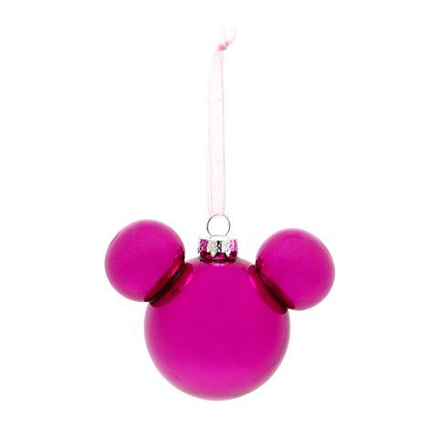 Decoración navideña cabeza Mickey, Disneyland Paris