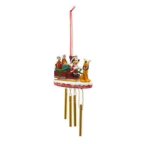 Mickey and Friends Festive Hanging Ornament