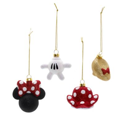 Minnie Mouse Baubles, Set of 4