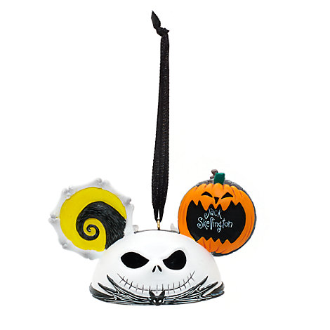 Jack Skellington Mickey Ears Hanging Ornament