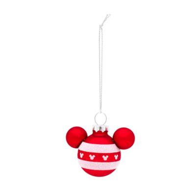 Micky Maus - Weihnachts-Kugeln, 6er-Set