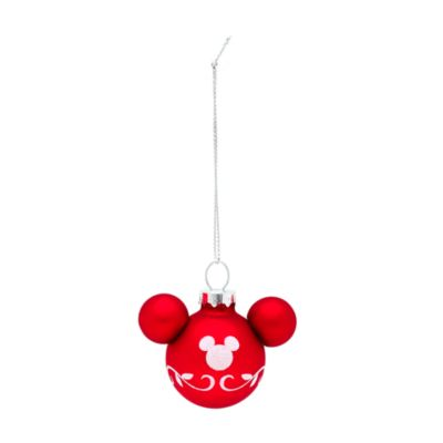 Mickey Mouse Hanging Baubles, Set of 6