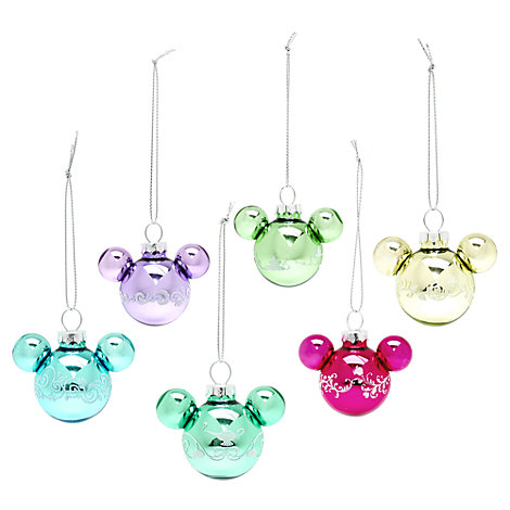 Disney Princess Hanging Ornaments, Set of 6