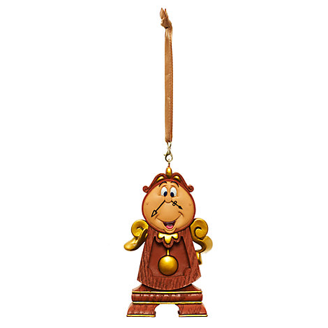 Cogsworth Hanging Ornament, Beauty and the Beast