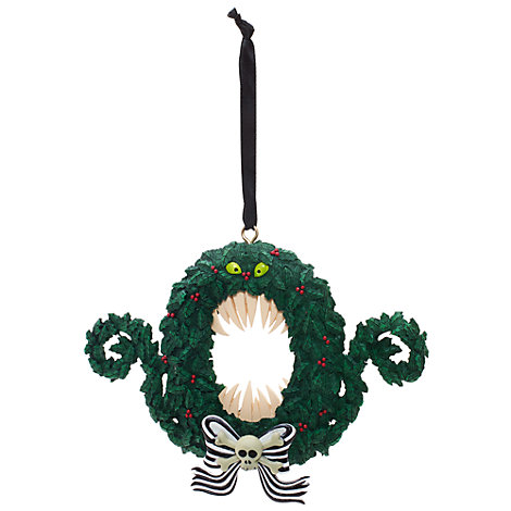 Wreath Hanging Ornament, Nightmare Before Christmas