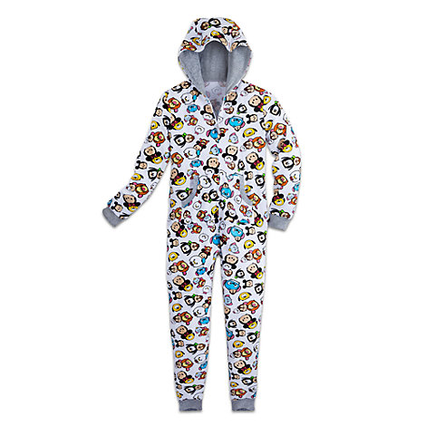 Tsum Tsum Hooded Onesie For Adults