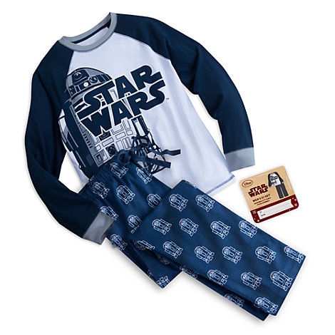 star wars das erwachen der macht r2 d2 pyjama f r herren. Black Bedroom Furniture Sets. Home Design Ideas
