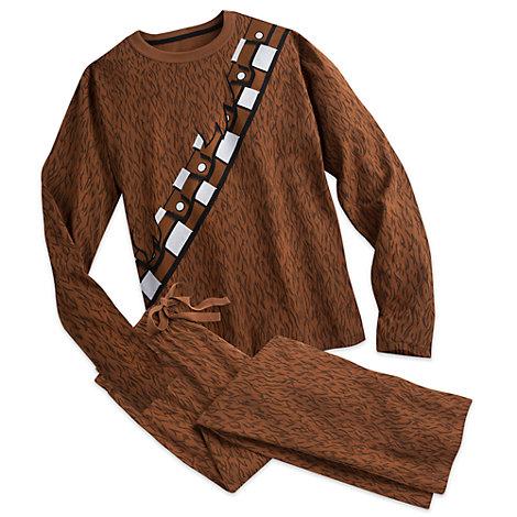 Pyjama costume Chewbacca, Star Wars : Le Réveil de la Force pour adultes