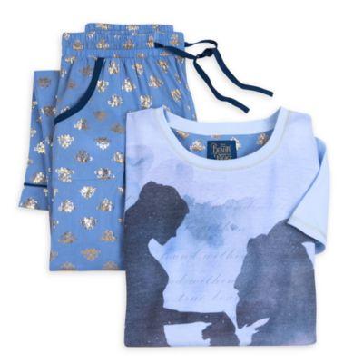 Skönheten och Odjuret pyjamas (flickor)