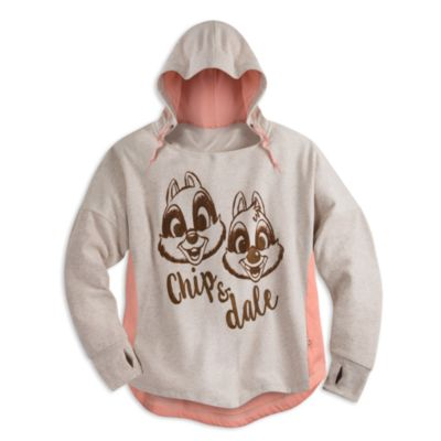 Chip 'n' Dale Adult Hooded Sweatshirt