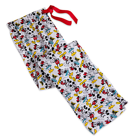 Mickey and Minnie Mouse Ladies' Lounge Pants