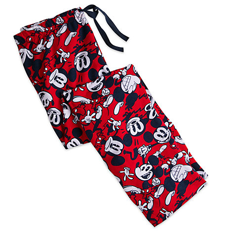 Mickey Mouse Lounge Pants For Adults
