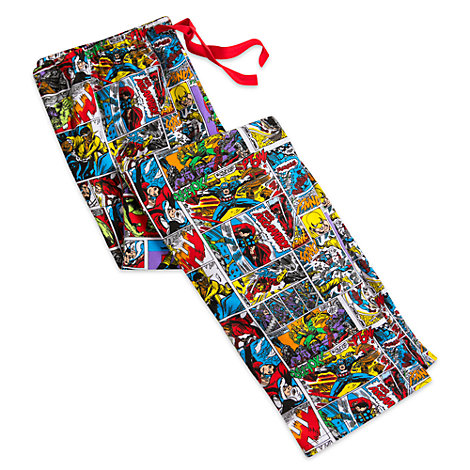 Marvel Comics Lounge Pants For Adults