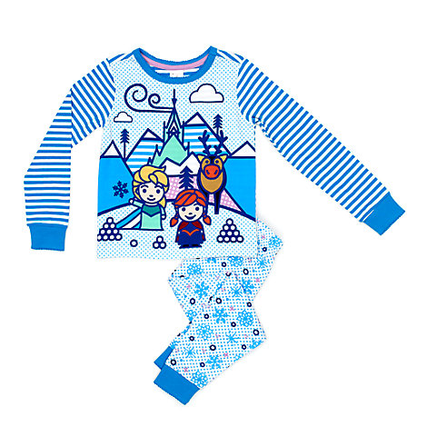 Frozen Slim Fit Pyjamas For Kids