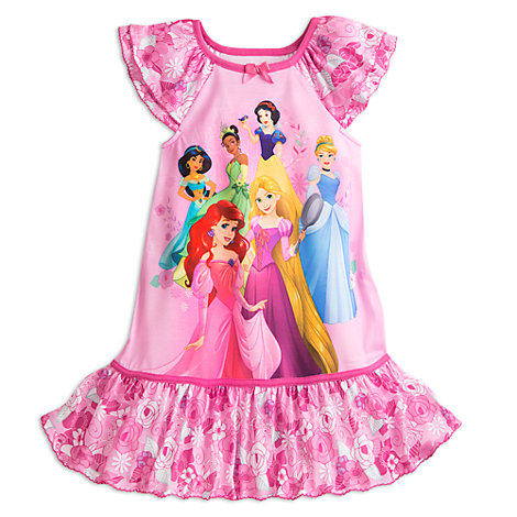chemise de nuit princesses disney pour enfants. Black Bedroom Furniture Sets. Home Design Ideas