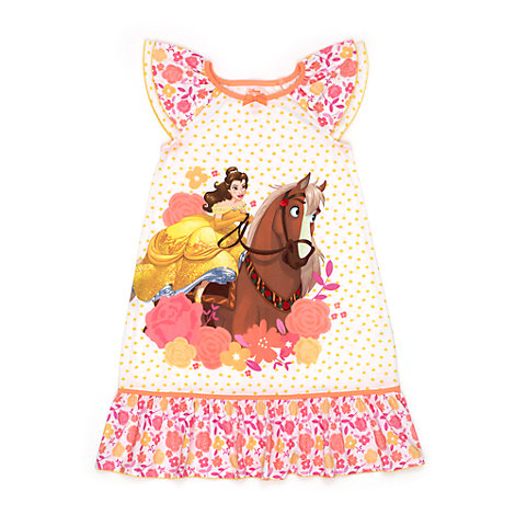 Belle Nightdress For Kids, Beauty And The Beast