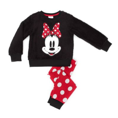Minnie Mouse Fleece Pyjamas For Kids