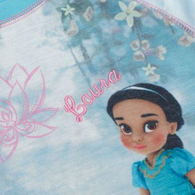 Disney Animators Collection - Hochwertiger Prinzessin Jasmin Pyjama für Kinder