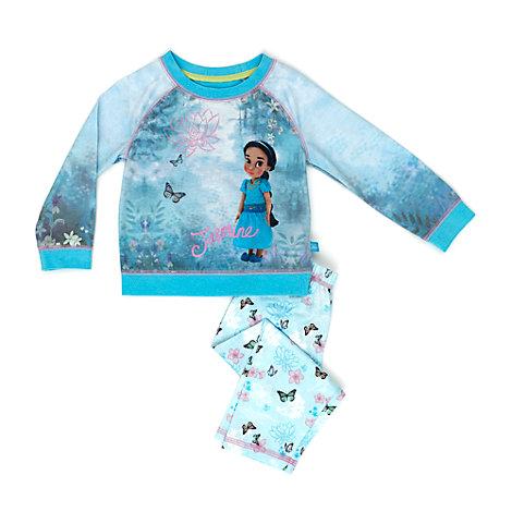 Jasmin premiumpyjamas för barn, Disney Animators' Collection