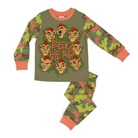 Løvernes garde pyjamas til børn