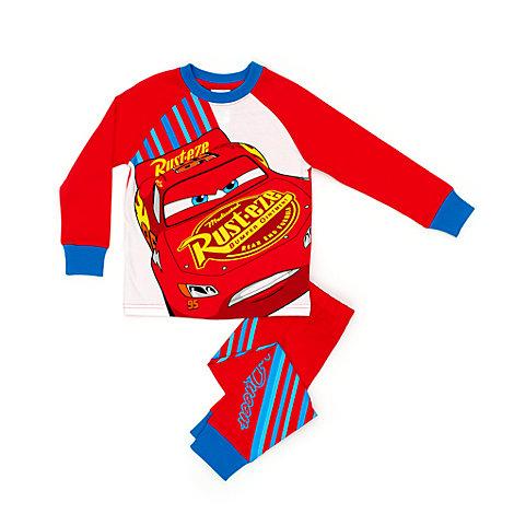 Blixten McQueen pyjamas för barn, Disney Pixar Bilar 3