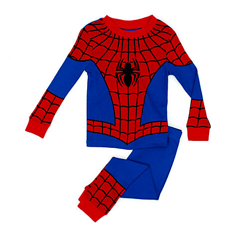 spider man pyjama f r kinder. Black Bedroom Furniture Sets. Home Design Ideas