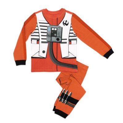 Poe Dameron pyjamas för barn, Star Wars: The Last Jedi