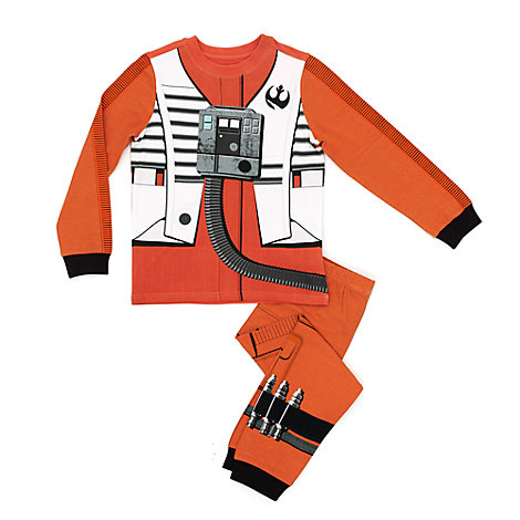 Pijama infantil Poe Dameron, Star Wars: Los Últimos Jedi