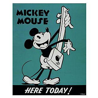 Póster impresión en lienzo Mickey Mouse, Graham & Brown