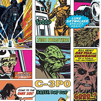 Graham & Brown carta da parati Multi Star Wars