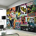 Graham & Brown Star Wars Comic Mural