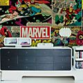 Graham & Brown Marvel Mural