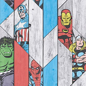 Papel pintado sobre panel de madera Marvel de Graham & Brown