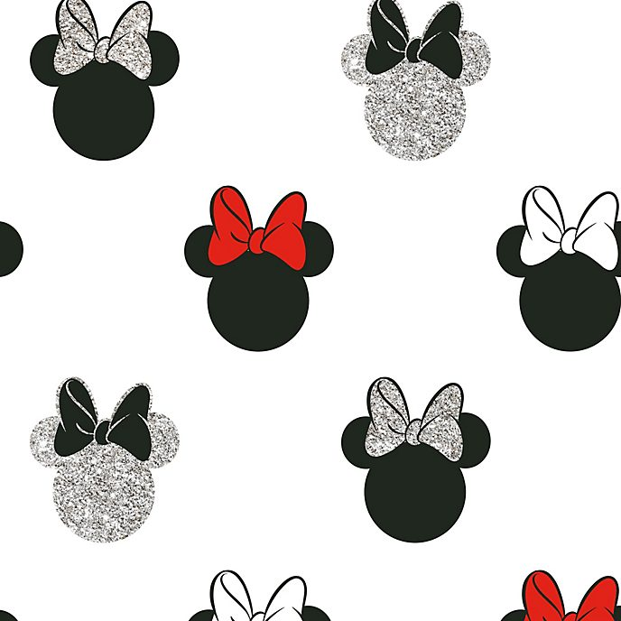 Graham & Brown Sparkly Minnie Mouse Wallpaper