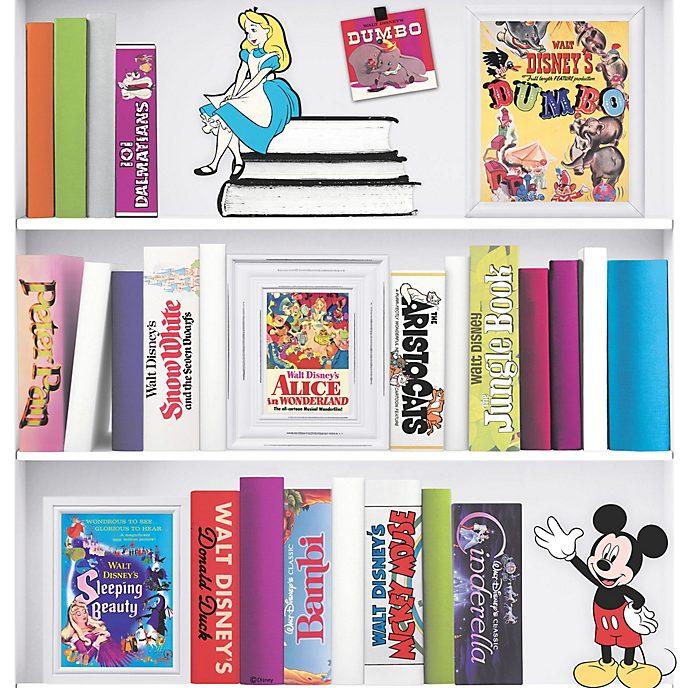Graham & Brown Disney Bookshelf Wallpaper