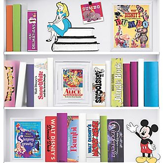 Papel tapiz estantería Disney, Graham & Brown