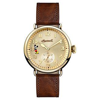 Reloj piel marrón Mickey Mouse, Ingersoll