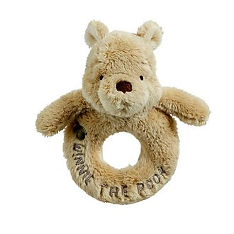 Winnie the Pooh Baby Rattle