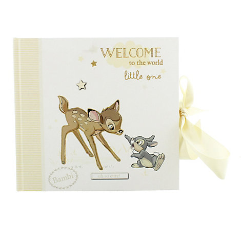 Album photo Bambi pour bébé