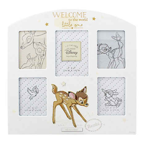 Bambi - Collage-Rahmen für Babyfotos