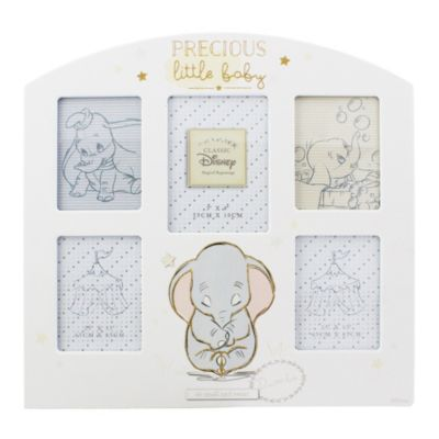 Cadre photo à plusieurs emplacements Dumbo pour bébé