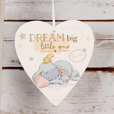 Dumbo Baby Wooden Plaque
