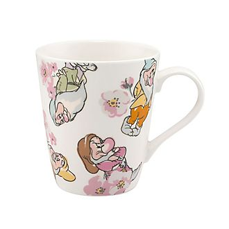 Cath Kidston x Disney - Becher mit Zwerge- und Blütenmuster
