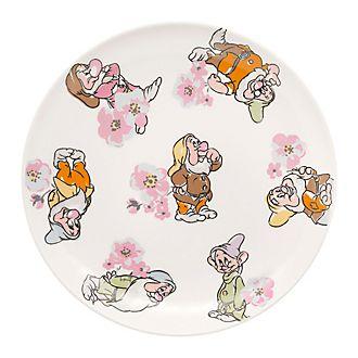 Cath Kidston x Disney - Kleiner Teller mit Zwerge- und Blütenmuster