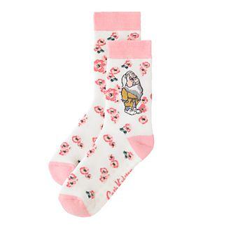 Cath Kidston x Disney calcetines antideslizantes mujer enanitos y flores
