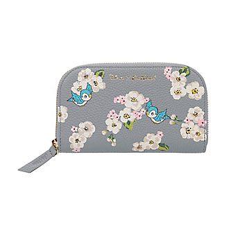Cath Kidston x Disney cartera continental cuero flores dispersas Blancanieves