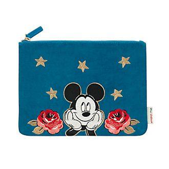 Cath Kidston x Disney pochette di velluto Topolino