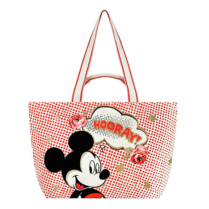 Cath Kidston x Disney borsa a spalla Hooray Topolino