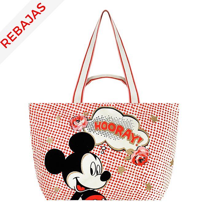 Cath Kidston x Disney bolso grande Hooray Mickey Mouse
