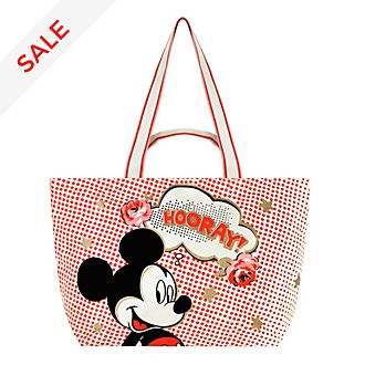 Cath Kidston x Disney Mickey Mouse Hooray Tote Bag